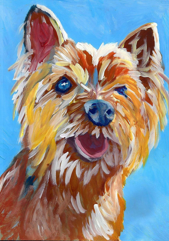 Picture Print Cairn Terrier Dog Labrador Retriever Art