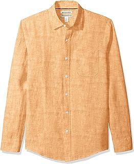 7add0fb529f Tommy Bahama Men s New Sand Linen L S White Shirt at Amazon Men s ...