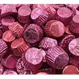 Reese's Miniatures Peanut Butter Cups Milk Chocolate, Pink (Pack of 2 Pounds)