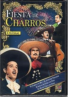 Fiesta De Charros. 4 Peliculas