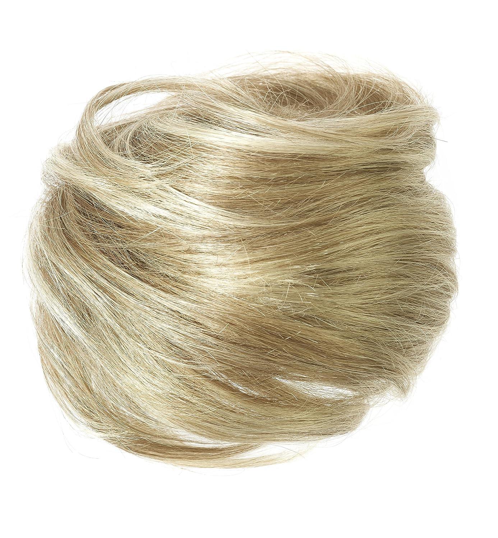 American Dream Large Size Human Hair Bun - Col Ash Blonde/Beach Blonde AD/BUN/L/18/22