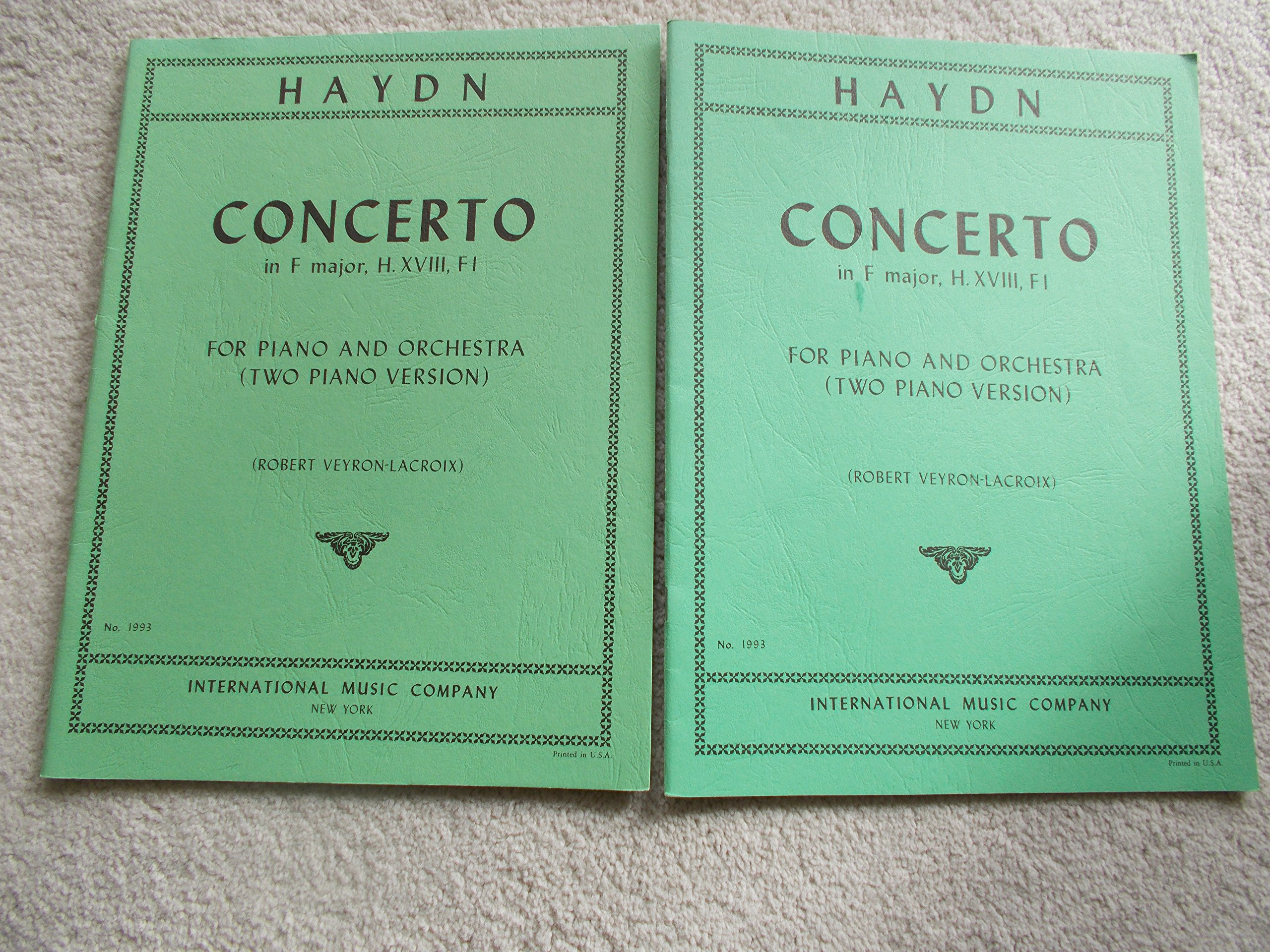 Download Haydn: Concerto in F Major - Piano Solo PDF