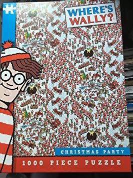 1000 piece jigsaw puzzle Where's Wally