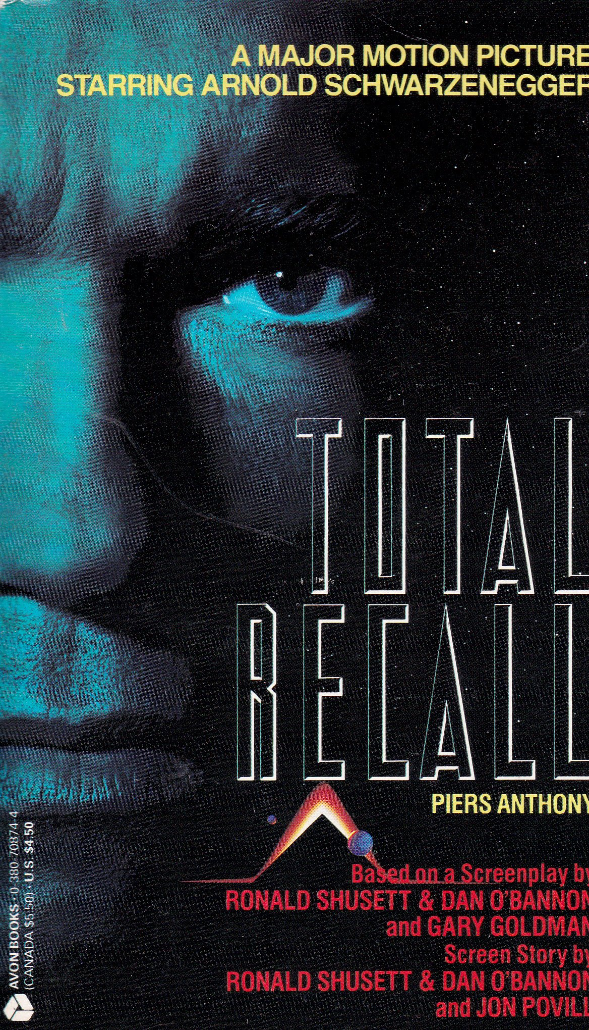 Total Recall Anthony Piers 9780380708741 Amazon Com Books