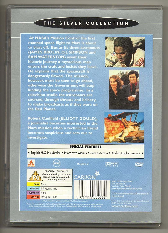 Capricorn One [Reino Unido] [DVD]: Amazon.es: Elliott Gould ...