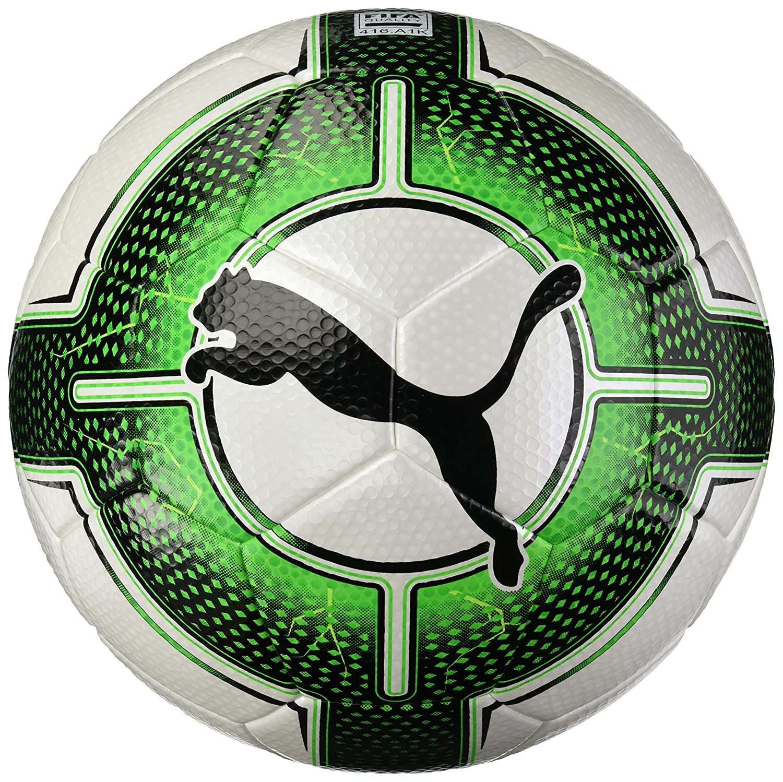 Balón de fútbol Puma Uni Evopower 3.3 (Calidad de la FIFA), Verde, Blanco y Negro. 082554 31