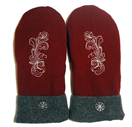 Integrity Designs Wool Sweater Mittens