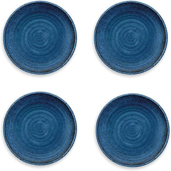 Epicurean Rio médaillon Outdoor-plastique//mélamine Dîner /& petites assiettes-Lot de 2