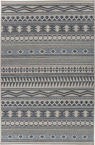Best living room rug: Rugshop Modern Bohemian Indoor/Outdoor Area Rug 7'10″ x 10' Cream
