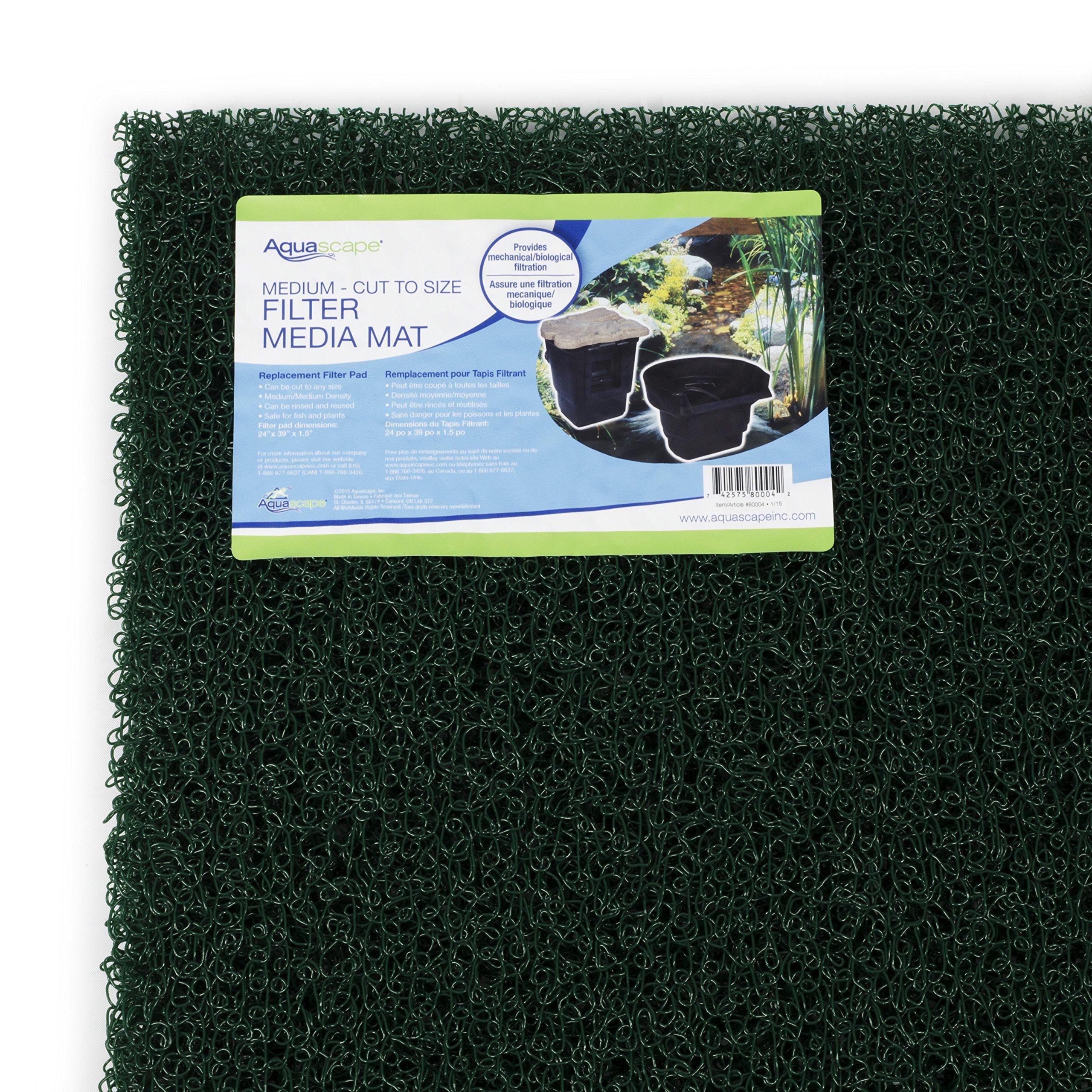 Aquascape 80004 Mat Pond Filtration Media, Medium Density