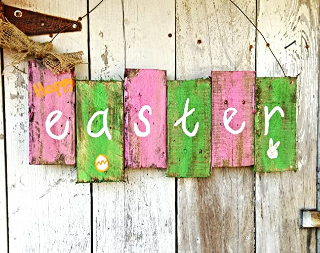Easter Door Hanger - Easter Sign - Easter Door Sign - Door Sign - Spring Door  sc 1 st  Amazon.com & Amazon.com: Easter Door Hanger - Easter Sign - Easter Door Sign ...