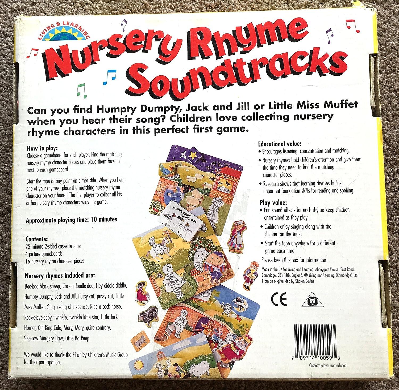 amazon com living learning nursery rhyme soundtracks baby
