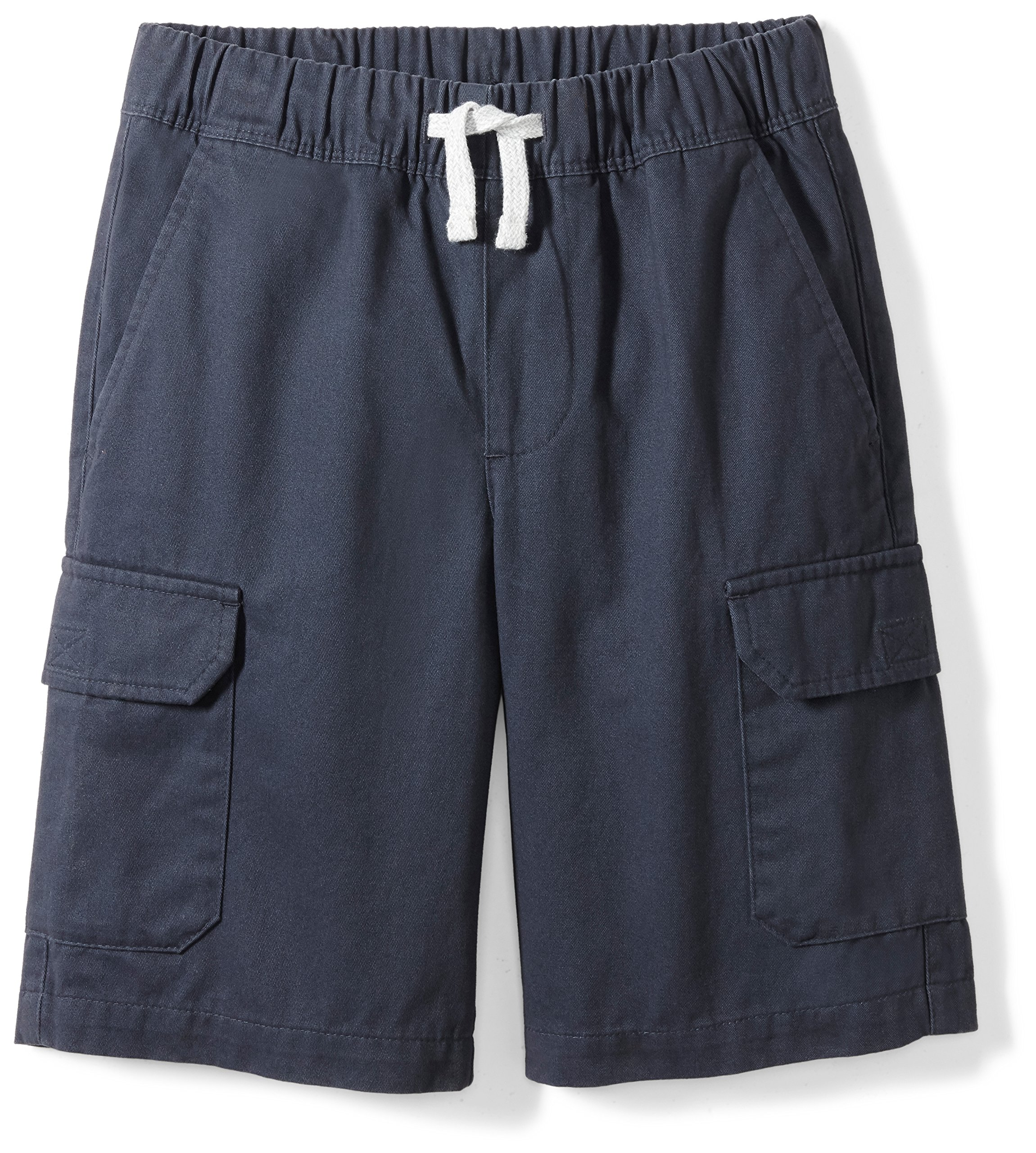 Spotted Zebra Little Boys' Cargo Shorts, Navy, Small (6-7)