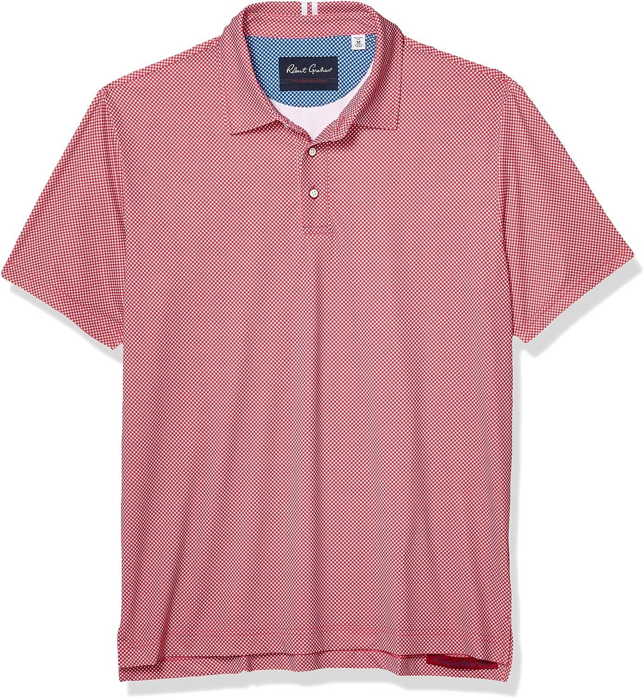 Import Robert Graham Men's Polo Knit Boston Mall S