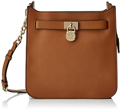 b526335ae8f590 Image Unavailable. Image not available for. Color: Michael Kors Hamilton  Ladies Medium Leather Messenger 30T7GHMM2L532