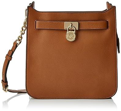 a9fb16e3063e Michael Kors 30T7GHMM2L Womens Hamilton Cross-Body Bag Brown (Acorn): Amazon .co.uk: Shoes & Bags