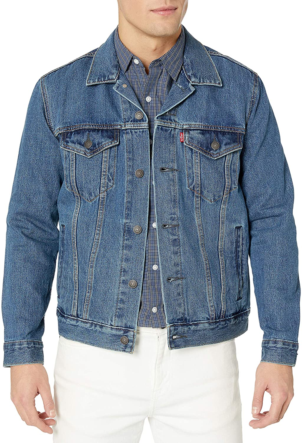 Levi's Men's Trucker Jacket at  Men's Clothing store