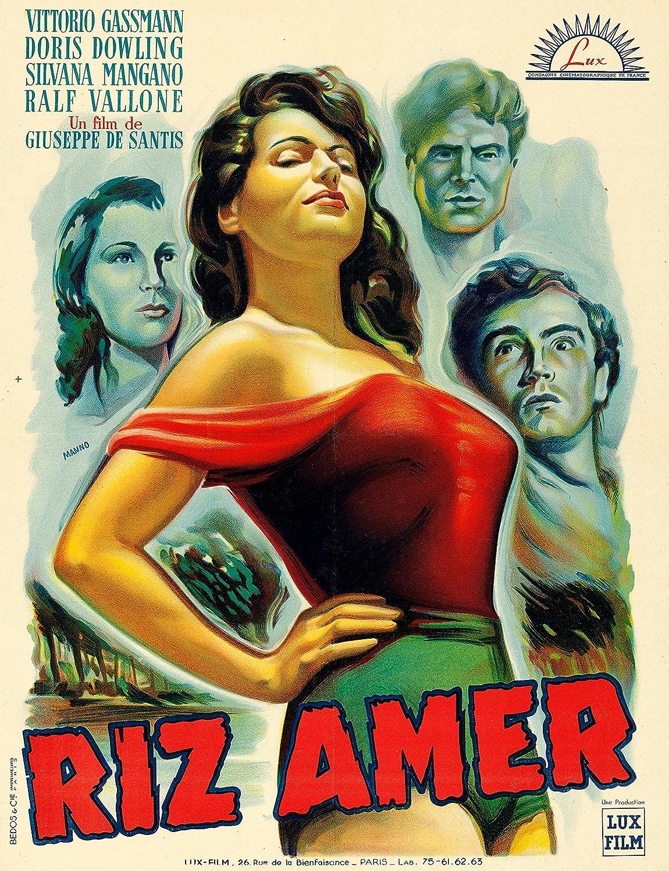 Riz Amer reproduction photo affiche du film 40 x 30 cm