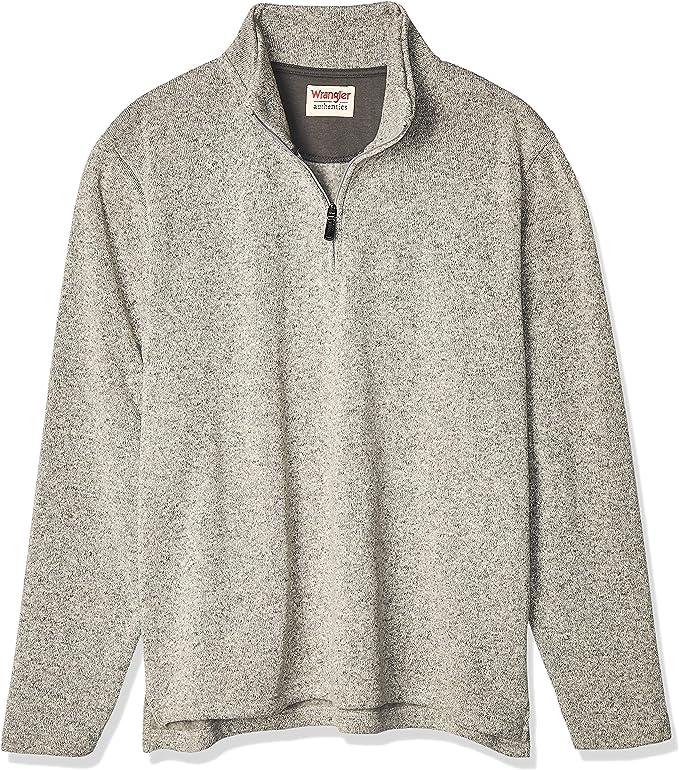 Quarter-zip men's sweater