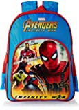 Avengers Infinity War Spiderman Blue School Bag for Children of Age Group 3 - 5 years| Size 14 inch