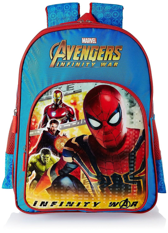 Avengers Infinity War Spiderman Blue School Bag for Children