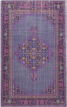 Amazon Com Surya Zahra Zha 4001 Hand Knotted Classic Area Rug 5 6 By 8 6 Feet Furniture Decor