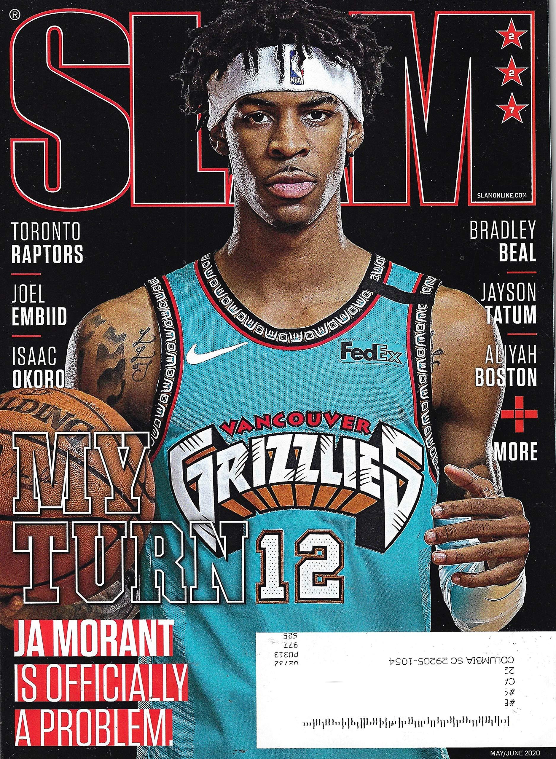 Slam Magazine May June 2020 Ja Morant Cover Slam Magazine Amazon Com Books