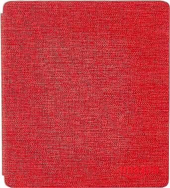غطاء Kindle Oasis من القماش المقاوم للماء، احمر