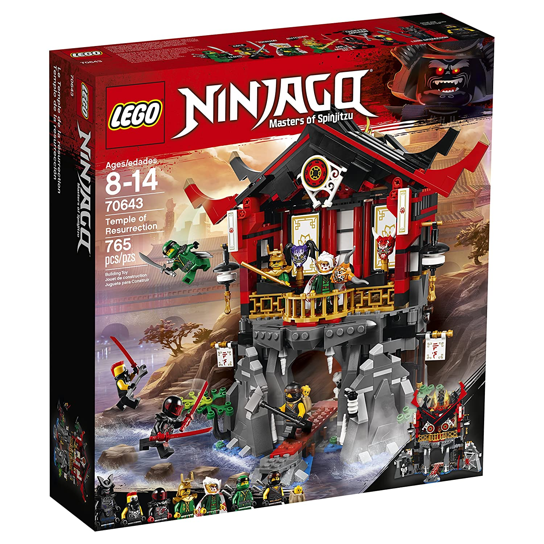 amazon com lego ninjago temple of resurrection 70643 building kit
