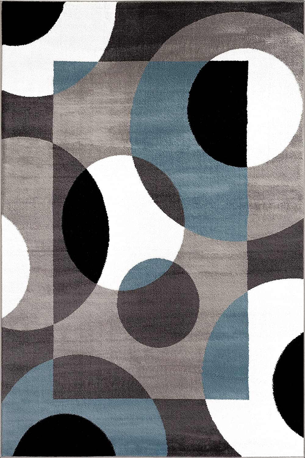 Completely new Amazon.com: Rugshop Modern Circles Area Rug, 7' 10
