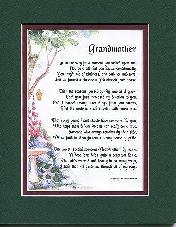 Amazonde Geburtstag Geschenk Muttertag Geschenk Gedicht Für