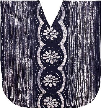 LA LEELA Mujeres Caftán Algodón túnica Batik Kimono Libre tamaño Largo Maxi Vestido de Fiesta para Loungewear Vacaciones Ropa de Dormir Playa Todos los días Cubrir Vestidos DB