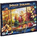 Schipper - 609260650 - Indian Summer - Triptychon - Tableau à Dessin - Taille 40 x 50 cm