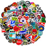 100 PCS Street Fashion Brand Cool Stickers for Laptop Vinyl Stickers Pack Decals for Waterbottle Moto Bicycle Skateboard…