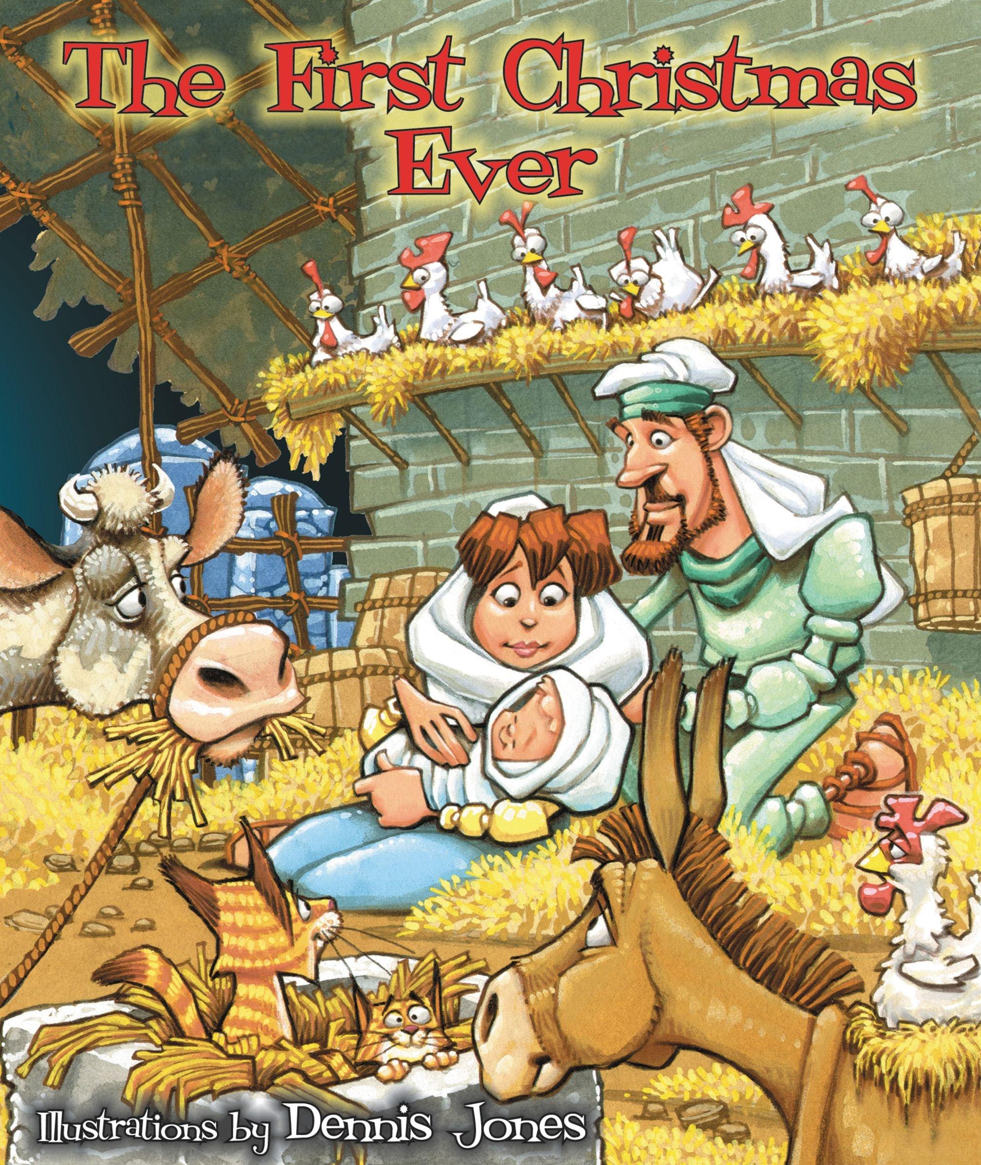 the first christmas ever dennis jones 0025986740832 amazoncom books