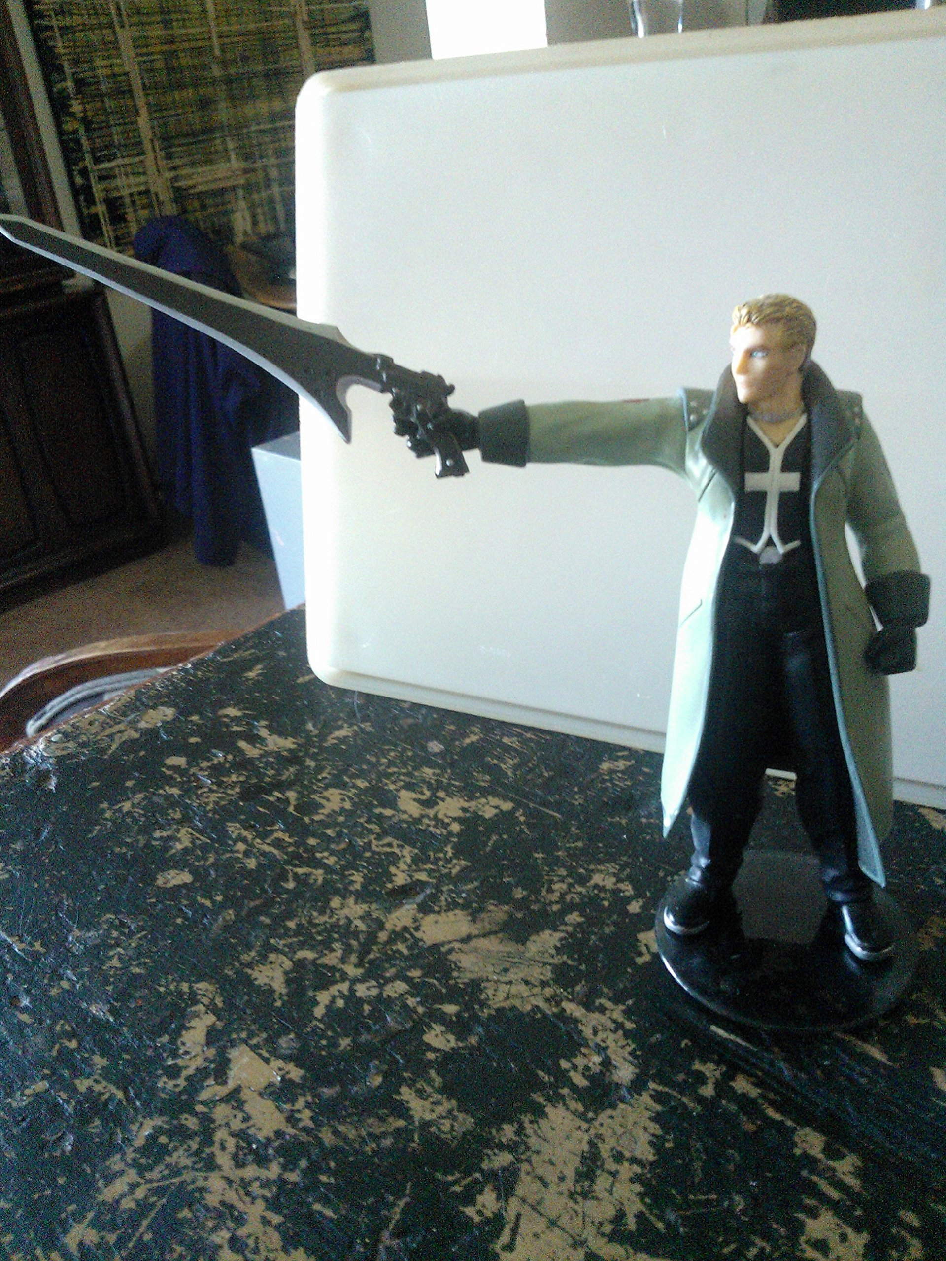 Final Fantasy VIII: Seifer Almasy, Extra Soldier, 5.5in. Poseable Figure