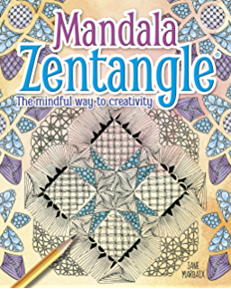 How to zendoodle tons of tangle patterns and designs english mandala zentangle the mindful way to creativity fandeluxe Image collections