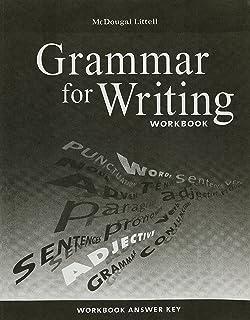 Mcdougal littell literature grammar for writing workbook answer mcdougal littell literature grammar for writing workbook answer key grade 7 fandeluxe Images