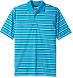 PGA TOUR Men's Big & Tall Short Sleeve Airflux Stripe Polo