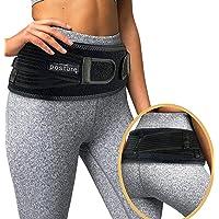 Vriksasana Sacroiliac Hip Belt for Women and Men That Alleviate Sciatic, Pelvic, Lower Back and Leg Pain, Stabilize SI Joint | Trochanter Belt | Anti-Slip and Pilling-Resistant (Black, Regular)