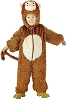 Kids Monkey Jumpsuit Boys u0026 Girls Fancy Dress Party Costume  sc 1 st  Amazon UK & Smiffyu0027s Childrenu0027s Unisex All In One Elephant Costume Jumpsuit ...