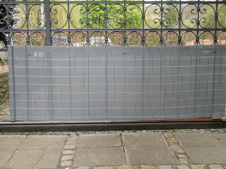 Excolo Pvc Sichtschutzmatte Sichtschutz Fur Zaun Balkon Garten Als