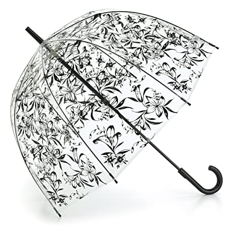 Fulton Birdcage 2 - Paraguas forma de cúpula, lirio