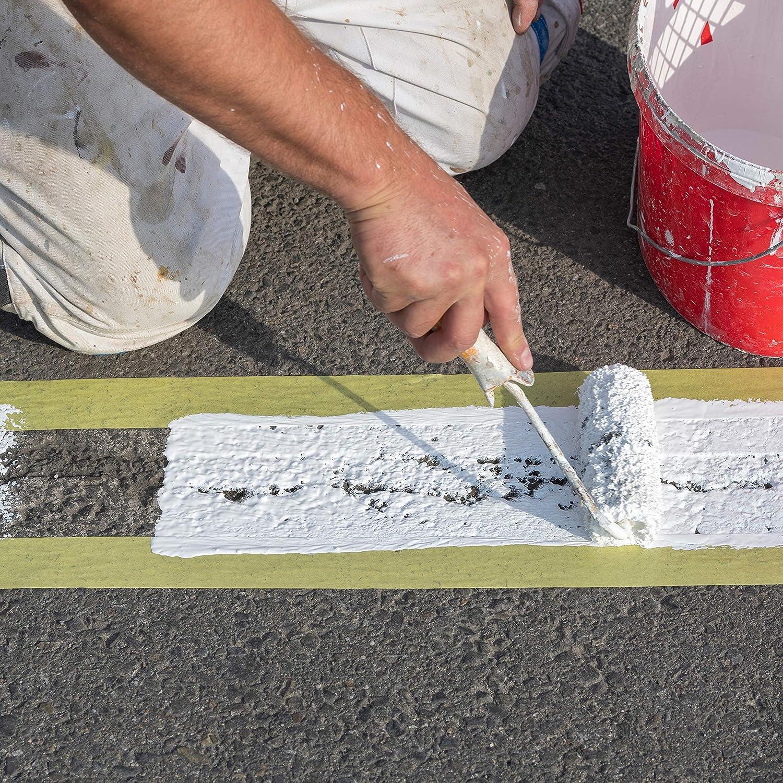 Hinrichs 4 x Kreppband 3 Rollen 50 m x 30 mm plus 1 Rolle 50 m x 20 mm Malerkrepp f/ür sauberes Abkleben der Abdeckfolie bei Malerarbeiten