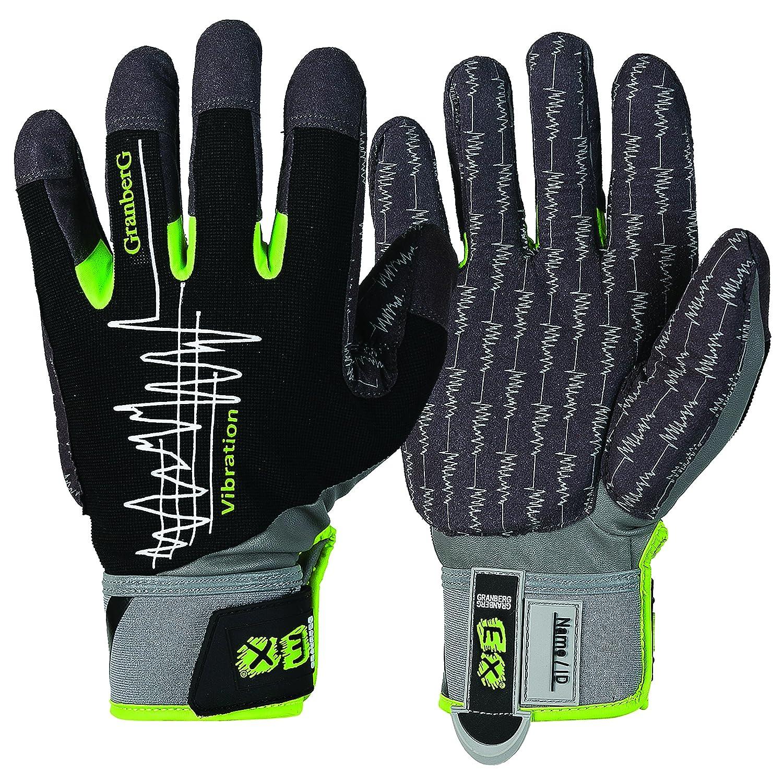 GRANBERG 107.4330-11 - 6ペアバンドルEX防振作業手袋、サイズ11、XXラージ(6個入り)  B01BHLDEVM