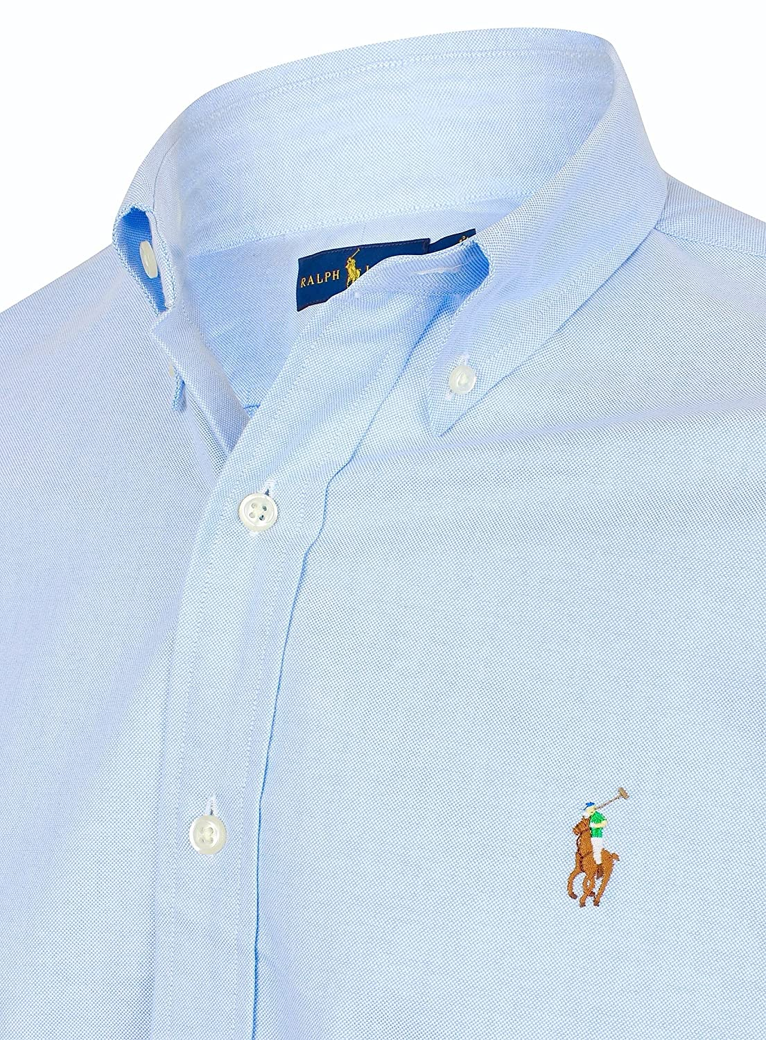 9116f24aa3 Ralph Lauren Polo by Uomo Button Down Oxford Camicia Standard Fit