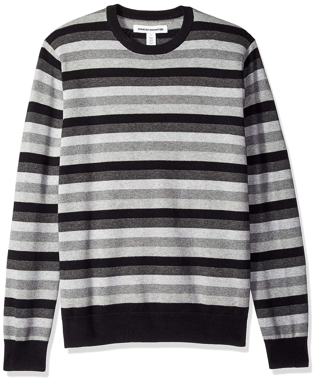 Amazon Essentials Men's Standard Crewneck Stripe Sweater MAE35002FL18
