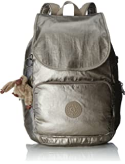 Kipling Cayenne Small Backpack Metallic Pewter