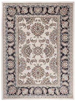 Carpeto Rugs Tapis Salon Beige Clair 140 X 200 Cm Oriental Ayla