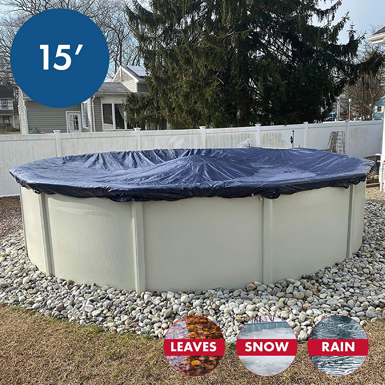 4 Yr Warranty Choose Size WinterBlock Leaf Net Cover for Swimming Pool